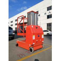 Lift Capacity 200kg , Max Height 7.5m Self-Propelled Aluminum Aerial Work Platform with 2 Masts Manufactures