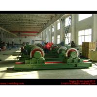 5 Ton Bolt Adjustable Steel Tank Welding Pipe Roller Rotator , Cylinder  Turning Roll Machine Manufactures