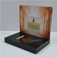 Laser Cutting Craft Cosmetic Display Rack Respectively Perfume Show Manufactures