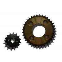 Durable 1045 Steel Motorcycle Sprocket Chain For Suzuki Motorbike Parts Manufactures