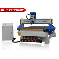 3 Axis CNC Router Wood Engraving Machine Italy Leadshine 860H Driver Manufactures