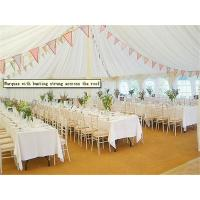 Hard Pressed Extruded Aluminum Alloy High Peak Wedding Event Tents For Party And Events Manufactures