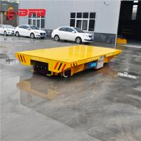 Remote Control Maintainence Free Battery Power Customized Transfer Cart on railway Manufactures
