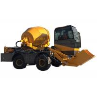 Front Discharge Mobile Self Loading Concrete Mixer Hydraulic System Heavy Duty Manufactures