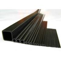Buy cheap RC Hobby Application Pultrusion Square Carbon Fiber Tube from wholesalers