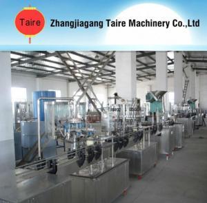 GFP series negative pressure filler production line Manufactures