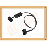 Male to Female Flat OBD 16 Pin Obd Extension Cable CK-MF08D01K Manufactures