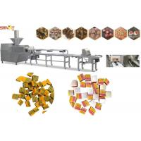 Intelligent Dog Chewing Food Extruder Machine 100kg/Hr Pet Food Extruder Manufactures
