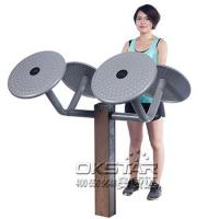 outdoor fitness equipment Park Wood outdoor Exercise Equipment Tai Chi Spinner  For Arm Training Manufactures