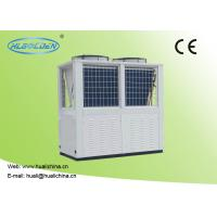 China Air To Water Swimming Pool Heat Pump R410A Aluminum Fin Color Steel Plate 32~75 KW Water Heater on sale