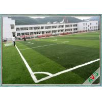 FIFA Standard Multi - Functional Soccer Field Artificial Turf 12000 Dtex Water-Saving Manufactures