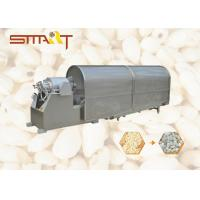 Automatic Puffed Rice Machine , Stainless Steel 304 Rice Pop Machine Manufactures