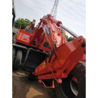 China 2012 Year  Used Wheel Excavator DOOSAN 140W-7 Excavator Pakistan Saudi arab on sale