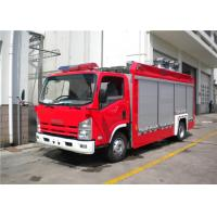325KW Electric Primer Pump Big Light Fire Truck With Water Inter Cooling