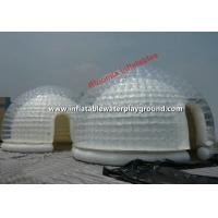 Quality Yard Dome Inflatable Tent , Inflatable Bubble Lodge 4m With CE Certificate for sale