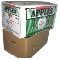 corrugated box for packing apples Manufactures