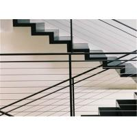 Buy cheap Construction Material Rod Balustrade Stainless Steel Wire Rope Balustrade from wholesalers