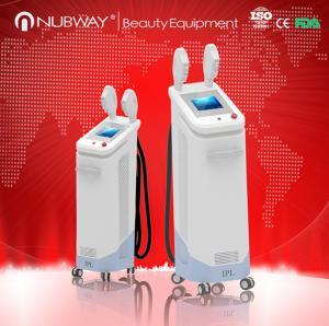 shr 2800w professional 2 handpiece e-light lamp 1Mhz ipl shr machine with ice-light Manufactures