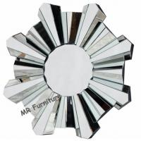 Romantic Wall Mirrors For Bedroom, 80cm Diameter Decorative Wall Mirrors Manufactures