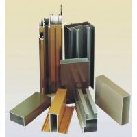 Powder Coating Aluminium Door Profiles , Deep - Processing Aluminum Door Extrusions Manufactures