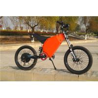Off Road Riding High Power Electric Bicycle 48v 1500w With Full Suspension Manufactures