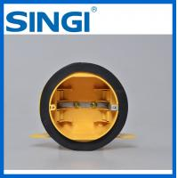 Quality Round plastic Electrical Junction Boxes , electrical connector boxes for sale