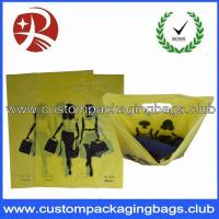 Promotional HDPE / LDPE Die Cut Handle Plastic Bags For Shopping , EN13432 Manufactures