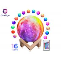 Buy cheap Moon Lamp 16 RGB Colors 3D Night Light for Kids Bedroom Decoration Birthday from wholesalers