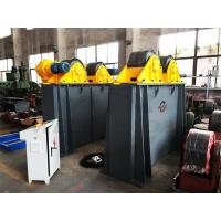 Tank Turning Rolls For Rotor Testing / Welding Inverter Variation Speed Steel Rollers Manufactures