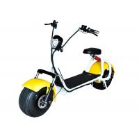 China Multi Color Electric Scooter Harley Citycoco With Rear Wheel Disc Brake Mode on sale