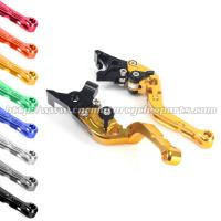 Quality CNC Billet Motorcycle Brake Clutch Lever For Kawasaki ZX6 636 Shorty Levers for sale