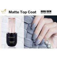 Long Lasting UV Top Coat Gel Nail Polish For Nail Beauty Salon No Burn Manufactures