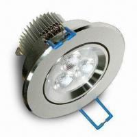 LED Downlight with 350mA Output Current and 100 to 240V AC Voltage Manufactures