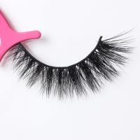 Quality Full Strip 3D Mink Lashes Mink Fur Eyelash Extensions Natural Looking for sale
