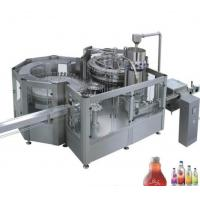 Stainless Steel Fresh Fruit Juice Production Line 8 - 40 Head 12000 BPH For Ice Cream Manufactures