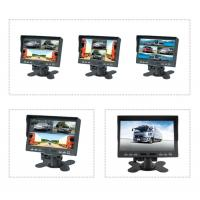7 inch TFT LCD car backup monitor car quad monitor 4 channel truck monitor reversing monitor Manufactures