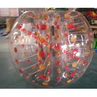 Quality body bubble ball inflatable bumper ball/ body zorbing bubble ball for sale
