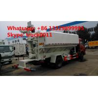 China best price 6tons hydraulic discharging poultry feed truck for sale, 5