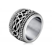 Popular Ring Spikes Stainless Steel Ring No Harm To Human Body For Gift Manufactures
