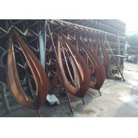 Rusty Art Decorative Outdoor Metal Sculpture Various Sizes / Finishes  Manufactures