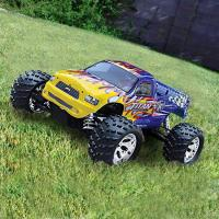 China RC Toy - 1/5 4wd Gas-Powered Monster Truck - TITAN (GT-053410) on sale