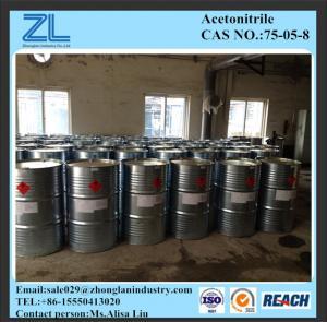 CAS 75-05-8Acetonitrile Manufactures