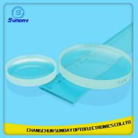 China 2mm to 500mm Plano Convex Lens  Optical Lens BK7k9 Sapphire Fused Silica(JGS1) Caf2 ZnSe Si Ge Made in China on sale