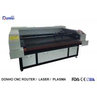 Auto Feeder Four Laser Heads Fabric Laser Cutting Machine For Multi Picture Engraving Manufactures