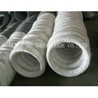 China Q195 Zinc Coating Electro Galvanized Iron Wire For Binding Wire ISO 9001 Approved on sale