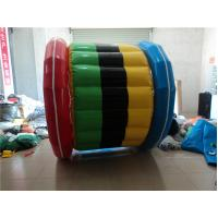 0.9mm PVC Tarpaulin Inflatable Water Toys Water Seesaw  Red Outdoor Manufactures