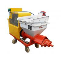 High Speed Professional Electric Mortar Spraying Machine For Wall And Ceiling Manufactures