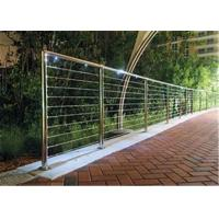 Modern Balcony Stainless Steel Cable Deck Railing System High Pressure Double Crank Manufactures