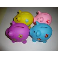 Childrens Money Boxes Piggy Banks , Pig Money Box For Saving Notes Manufactures