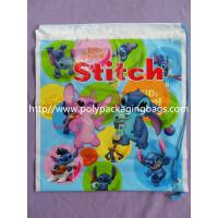Fashionable Small Plastic Gift Bags Customizable Drawstring Backpack Manufactures
